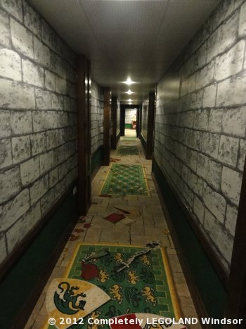 Carpet in a Kingdom corridor