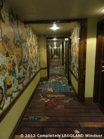 Carpet in a Pirate corridor